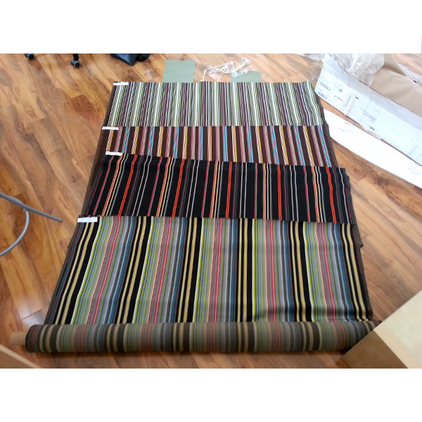 Reverberating Stripes by Paul Smith - Roll ends and Reclaimed Fabric