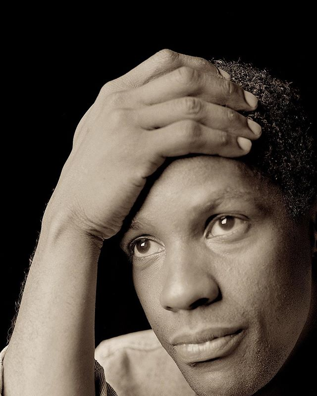 "Denzel Washington. Portrait photographed at the American Place Theatre. Denzel was a student of Wynn Handman who is the subject in the upcoming documentary: ""It Takes a Lunatic"" by director Billy Lyons. At the TRIBECA Film Festival May3rd. @denzelwashington.official #denzelwashington #premiere #documentary #actor #tribecafilmfestival #theamericantheatre #portraits #photooftheday #director @billylyonsnyc #photographer #hansneleman #art #artist #analoguephotography #8x10 #blackandwhitephotography #artphotography #film #nycartist"