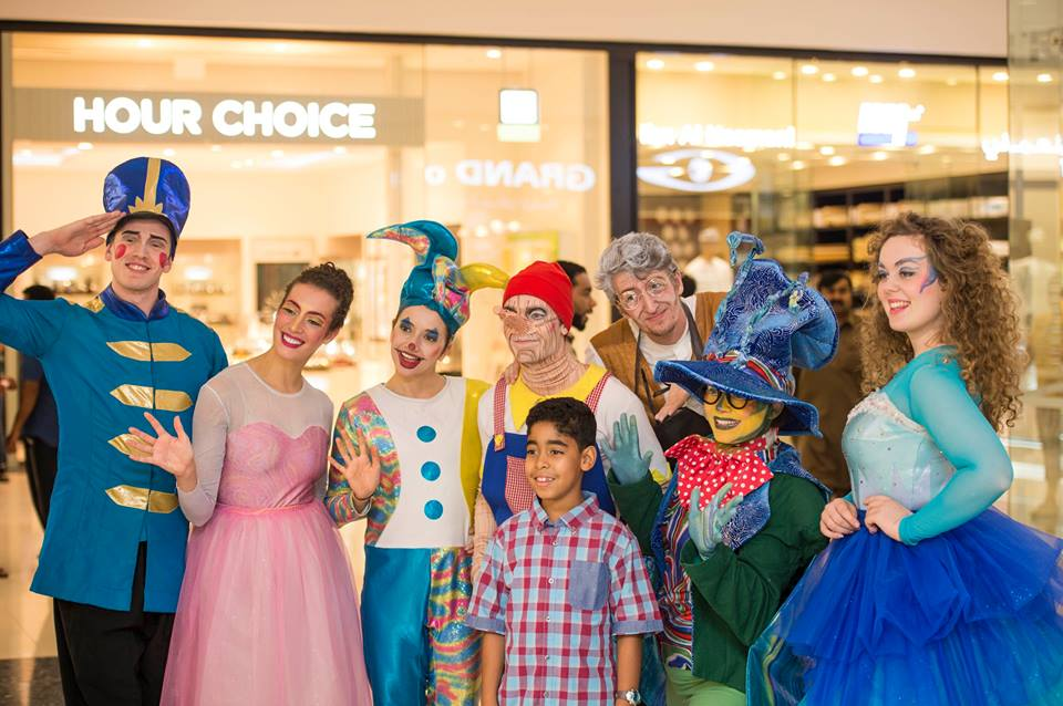 All cast from the Creativiva 'Pinocchio' in Oman show