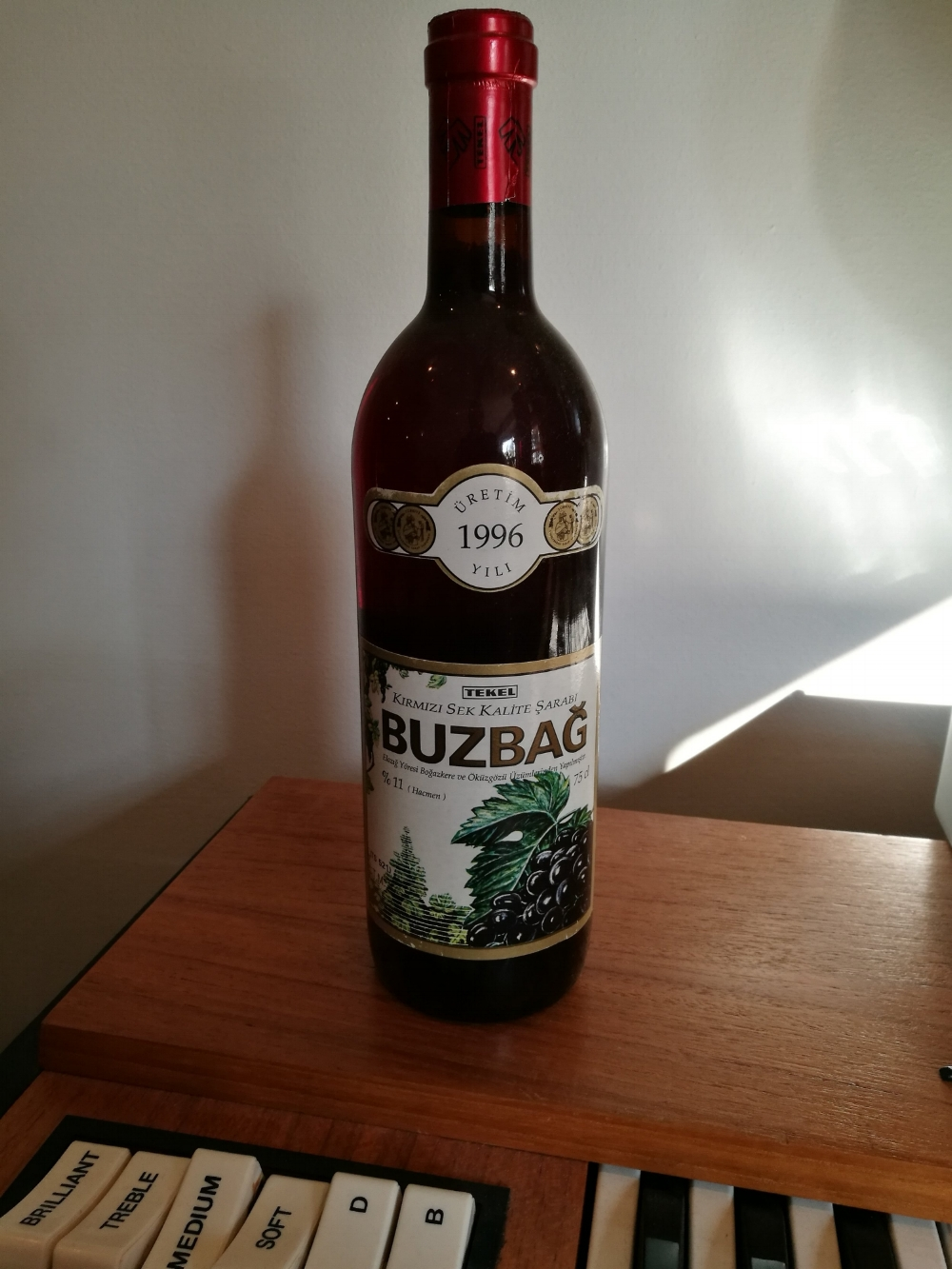 Trivia: Buzbag was the name of a local Turkish red wine... -