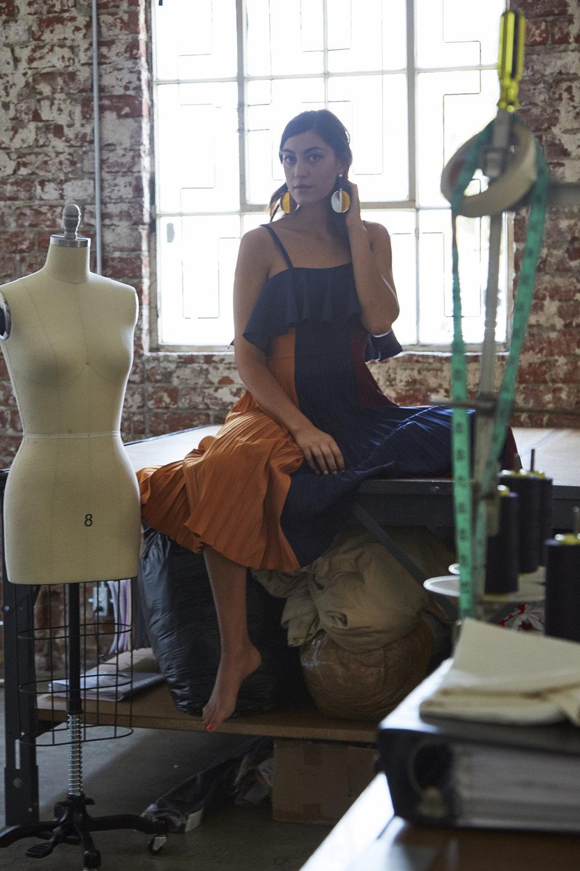 Sarah Staudinger, Vogue IT. Los Angeles