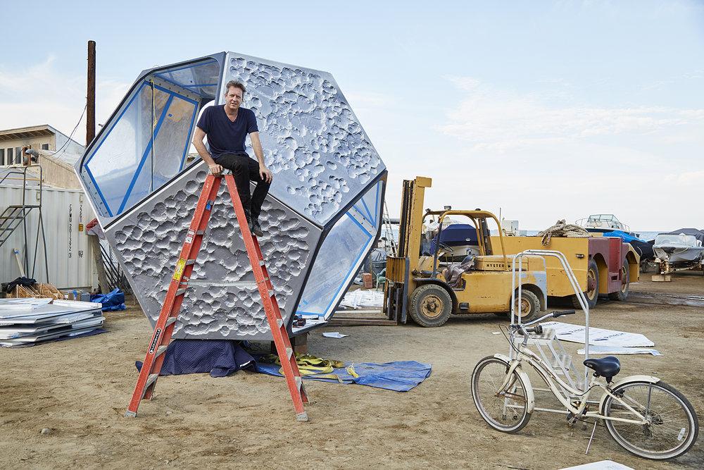 Doug Aitken, Cultured Magazine. Catalina Island