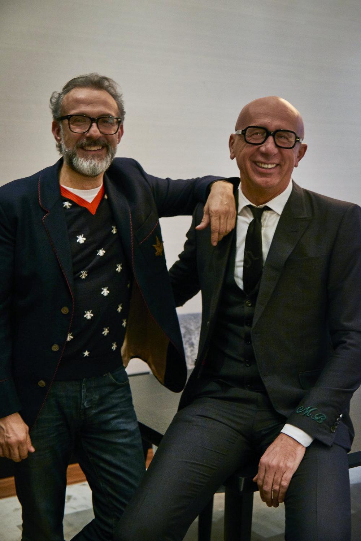 Massimo Bottura + Marco Bizzarri, Vogue Italia