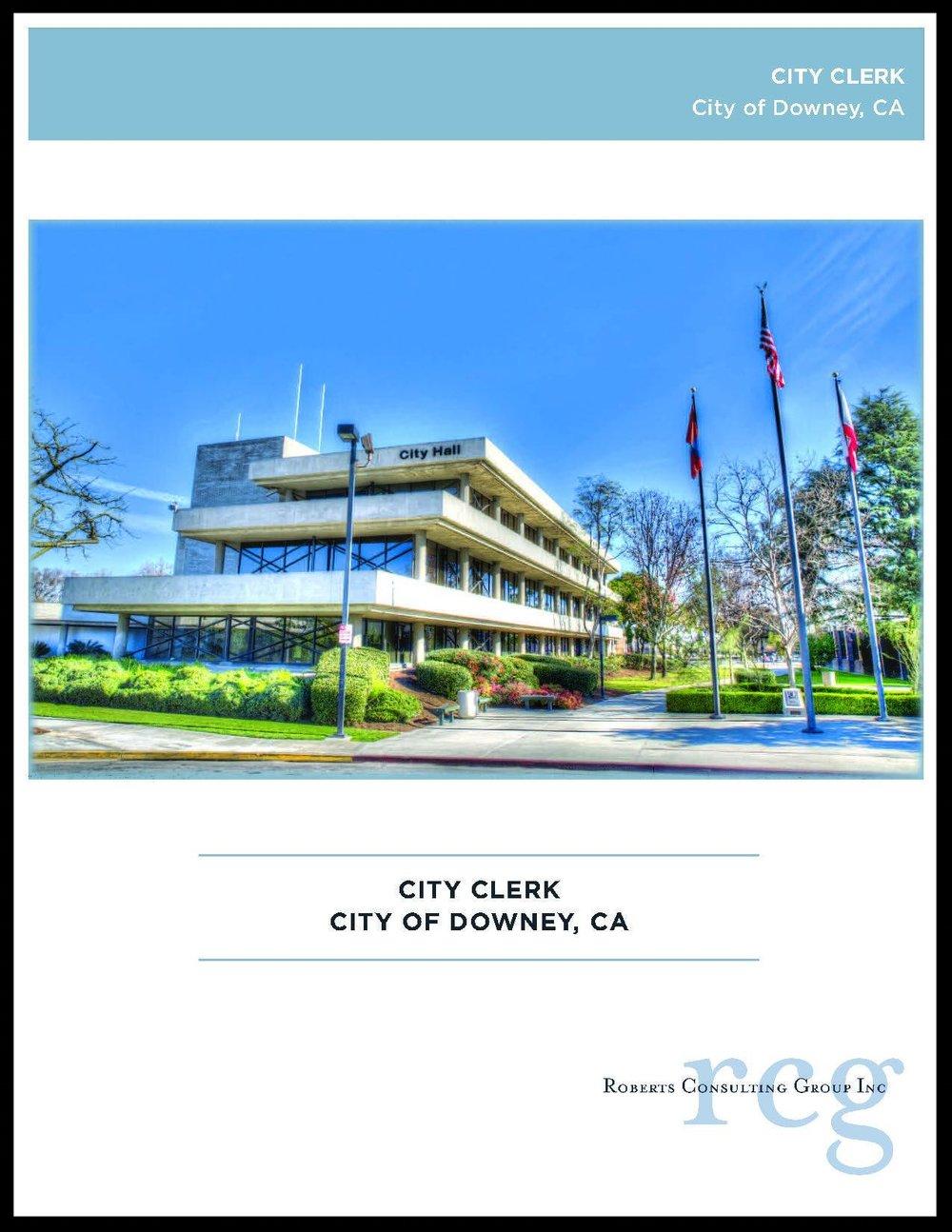 Downey_CityClerk_brochurecover