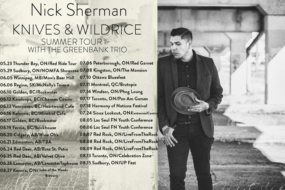 Get all the details, links to tickets and more information at http://www.nicksherman.ca