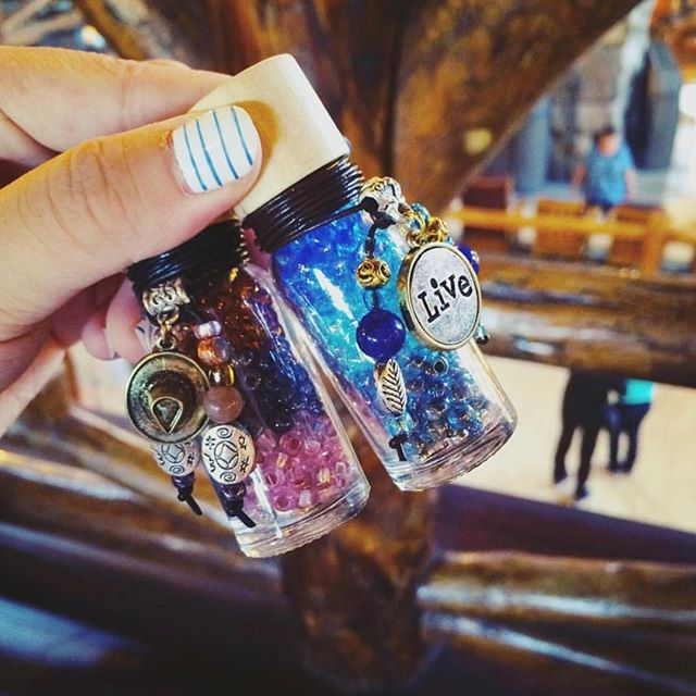 Photo of the day ❤️ Thank you @volia_w ❤️ #beadbottle #forhergifts #yogajewelry #diylove #diygram #diynetwork #beadbottlecollection #pbd #love #diyfashion