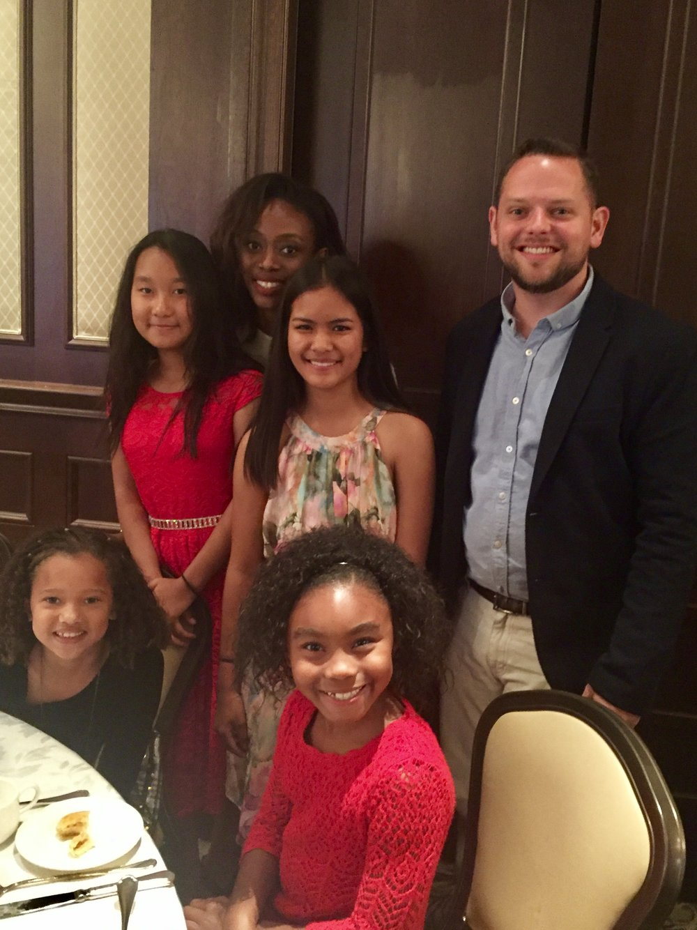 Picture of the cast at the luncheon! These girls had so much fun!!