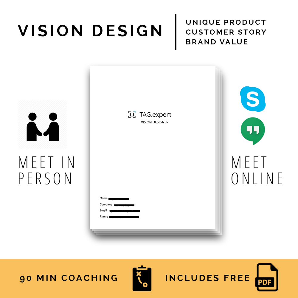 Get A Game Plan - 1. Schedule a Vision Session 2. Meet with a Brand Partner