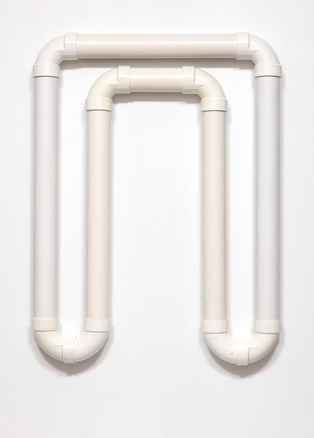 SLATE: PVC Pipe Construction No. 2  , 2015 Charlotte PVC pipe 48 x 36 inches