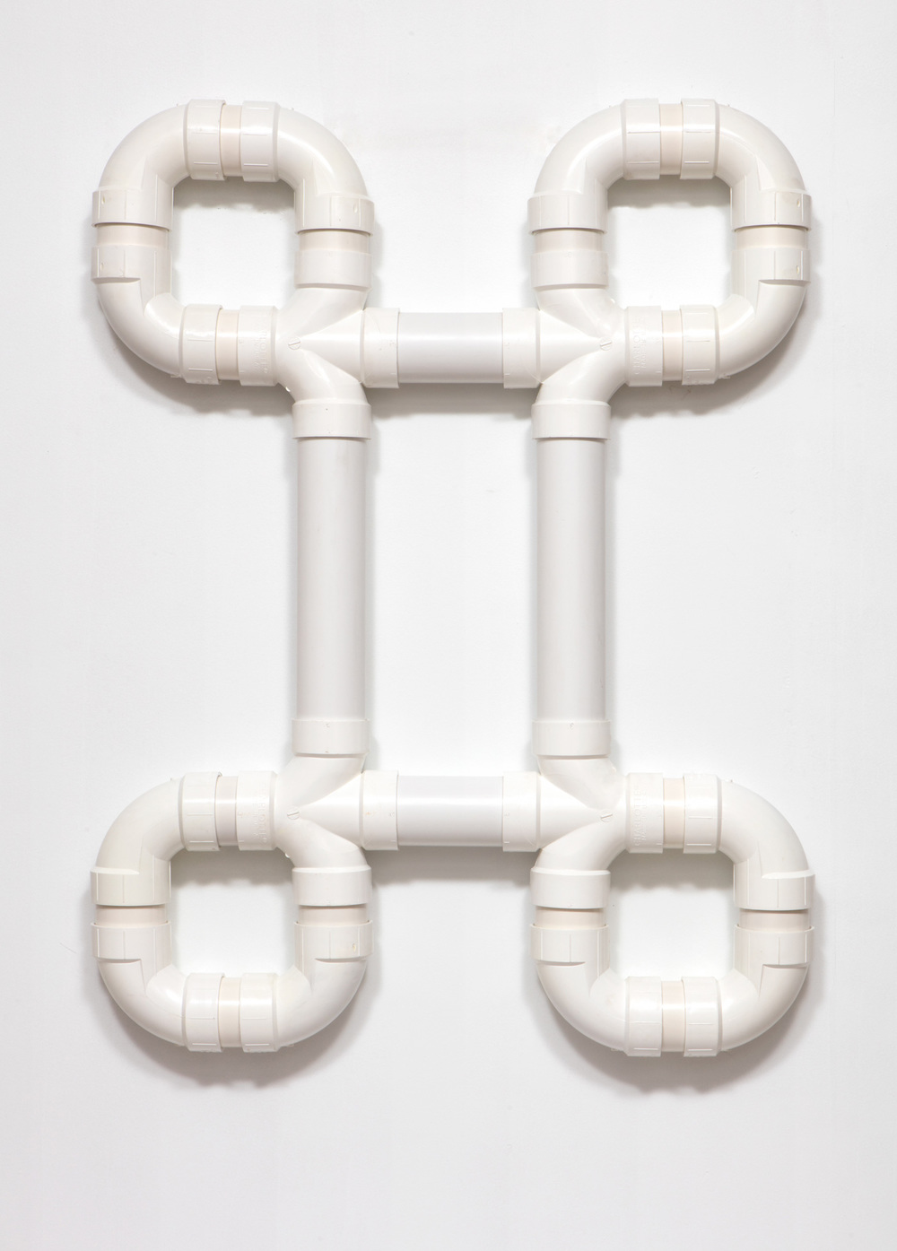 SLATE: PVC Pipe Construction No. 3  , 2015 Charlotte PVC pipe 48 x 36 inches