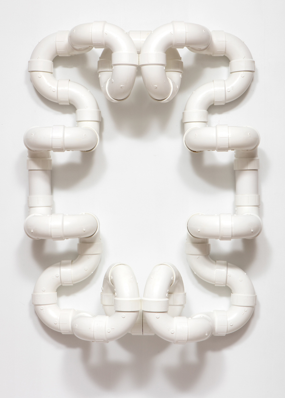 SLATE: PVC Pipe Construction No. 5  , 2015 Charlotte PVC pipe 48 x 36 inches