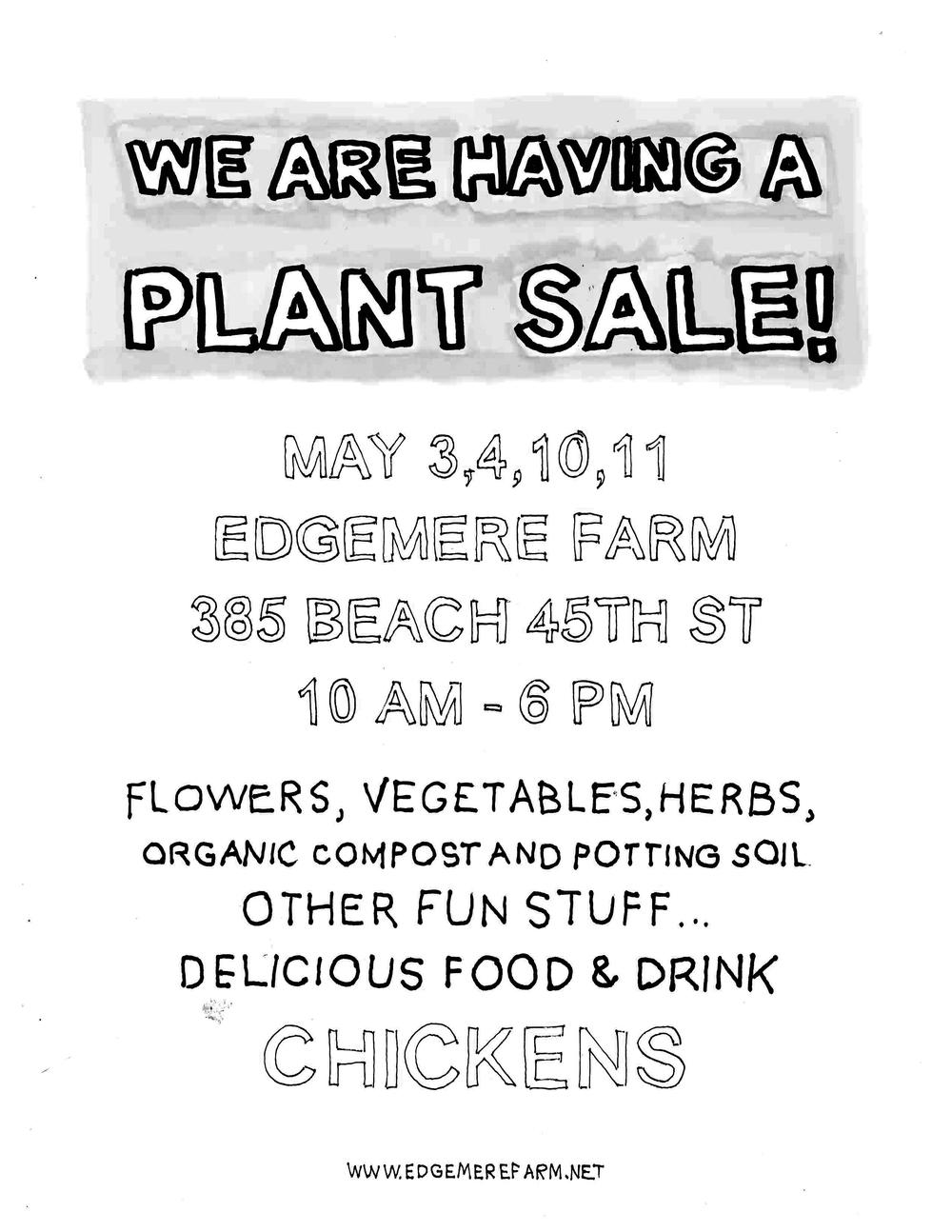 plant sale!
