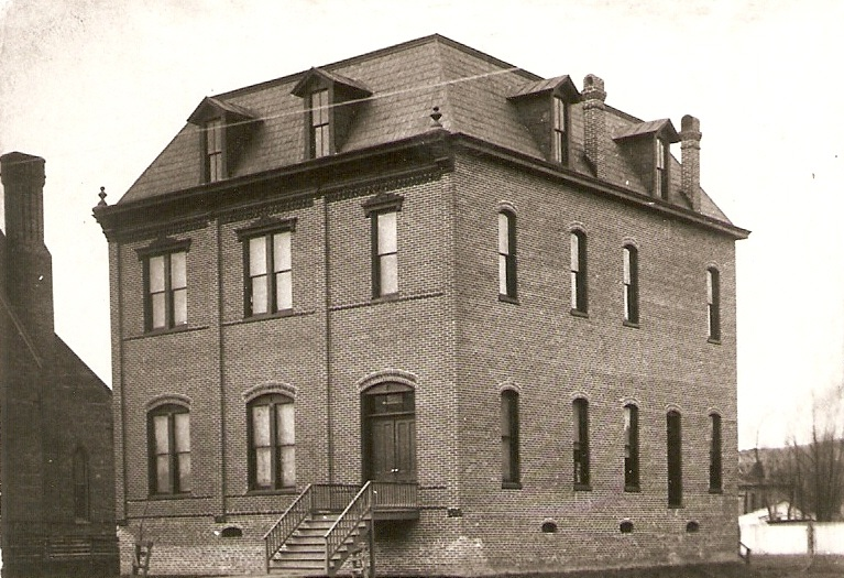 The Oldest Civic Building in the County - In September of 1891, the WLA opened the first proper library in Helena on Pecan street. A stately 2 1/2 story French Mansard building, it served as both the city library and civic center for many years.
