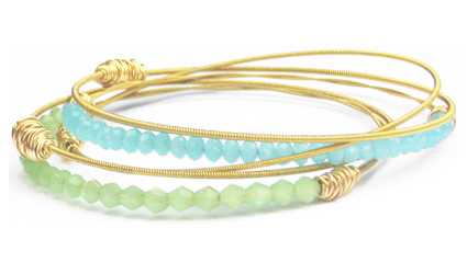 * Two Remix Bangles                    * Three Legend Collection bracelets