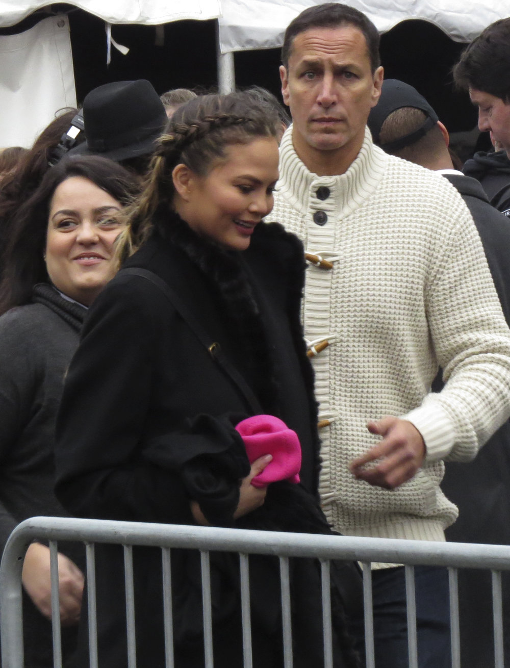 Christine Teigen at Women's March on Washington.