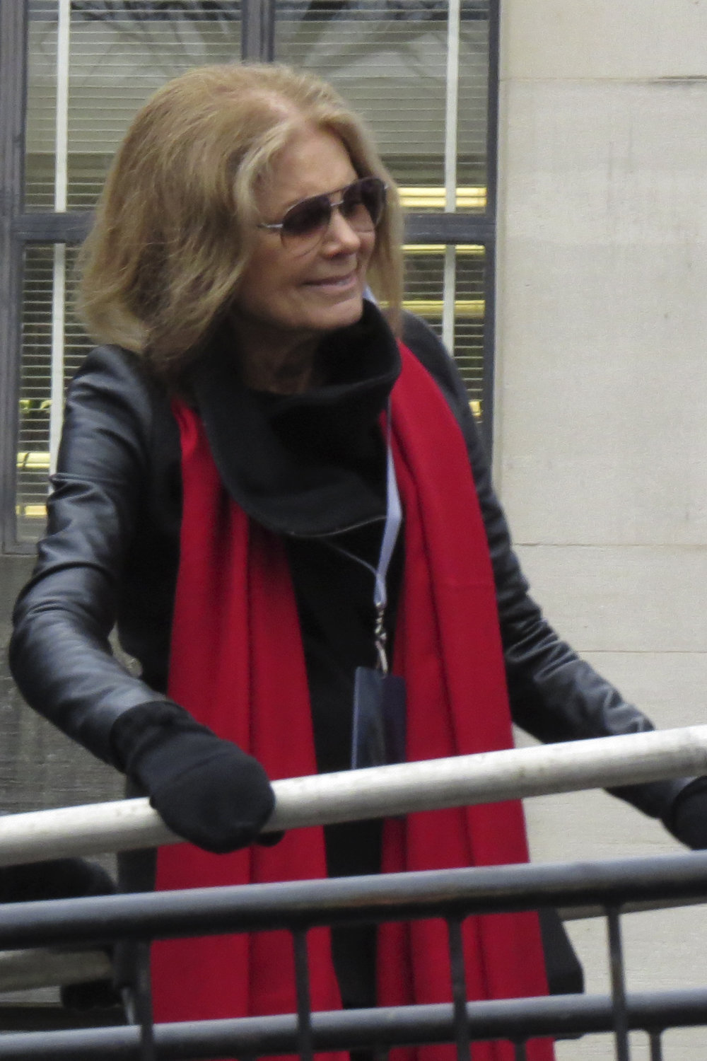 Gloria Steinem at Women's March on Washington