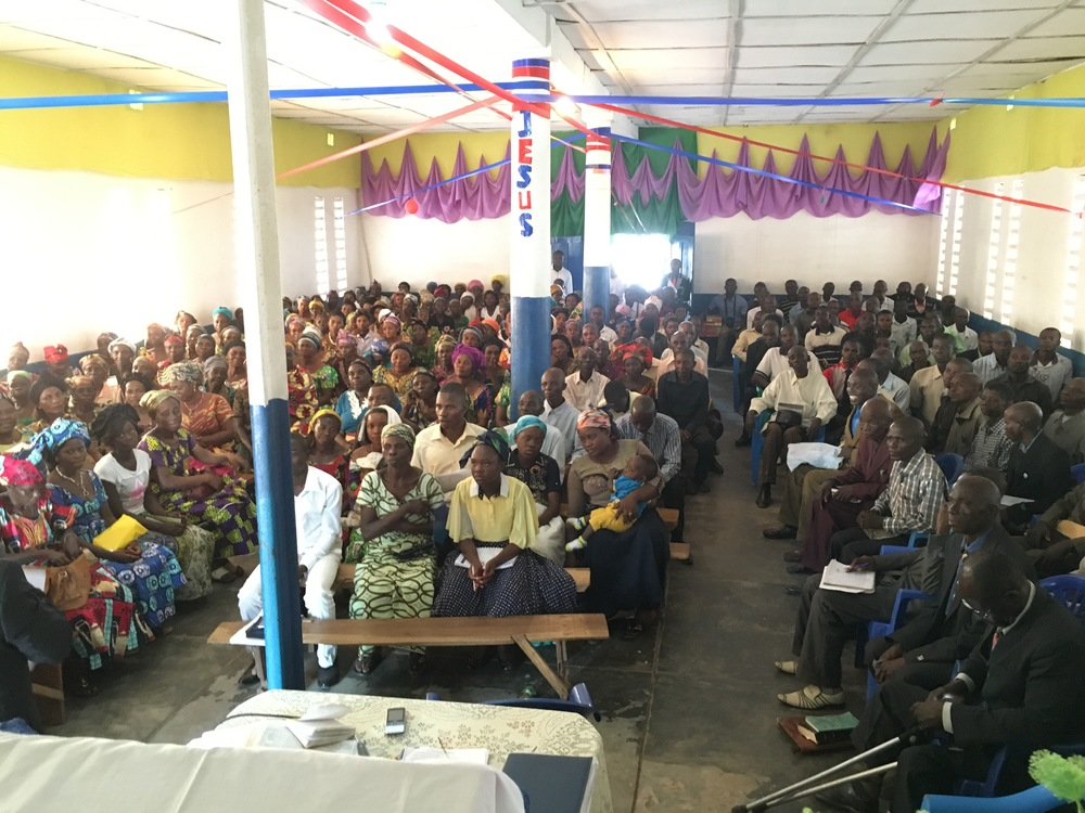 The conference in Kalemie