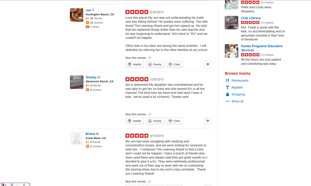 Here's What Our Client's Have To Say! :)