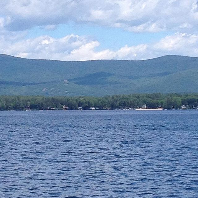 summer days are here on #lakewinnipesaukee #castleintheclouds #castleweddings #moultonborough #farechoharborclub #winnipesaukee #barge