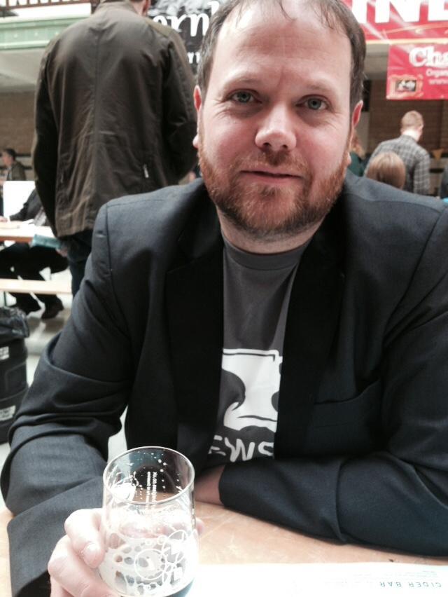 James at Indyman Beer Con 2014