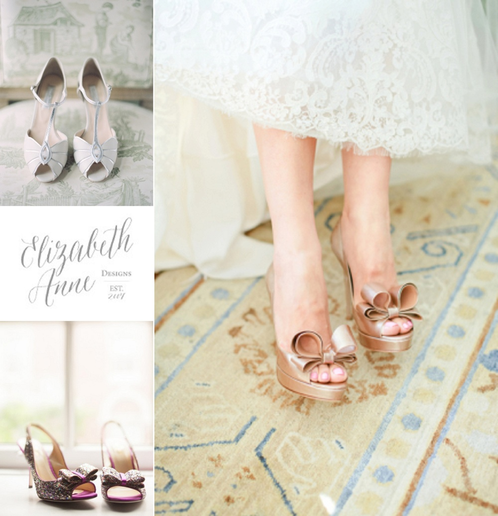 15 Must-Have Wedding Shoes from Elizabeth Anne Designs