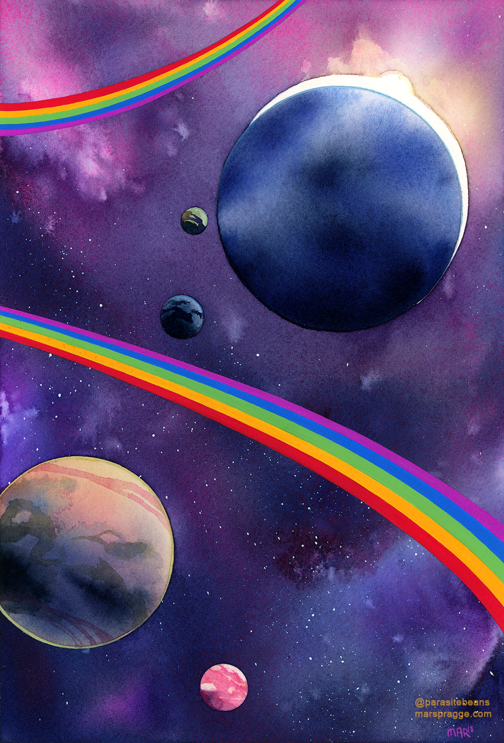 """Space is Gay II"""