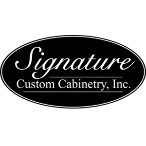Full-custom cabinetry, made to order, excellent quality. Wood species: Maple, oak, cherry, hickory, etc. More than 100 door styles and finishes, plus custom colors.
