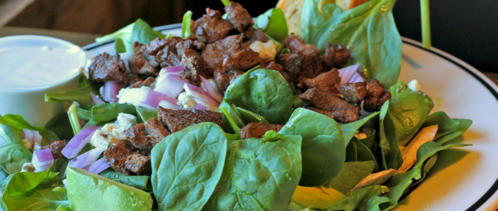 STEAK SALAD? OH YEAH!