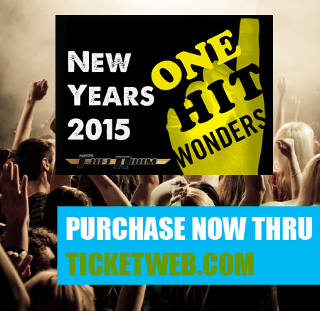 PURCHASE ONE-HIT-WONDER PACKAGE NOW THRU TICKETWEB