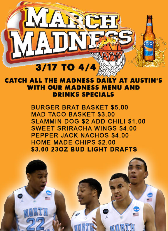 March Madness At Austin's Saloon
