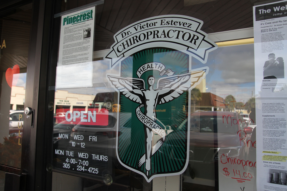 OFFICE HOURS &  GENERAL INFO  Pinecrest Chiropractic is conveniently located on US 1 and SW 124 street.  It's easy to reach us from virtually anywhere in Miami. Office hours are set to make it easy for you come in before or after work. Have an emergency and need us outside or office hours? Let us know.