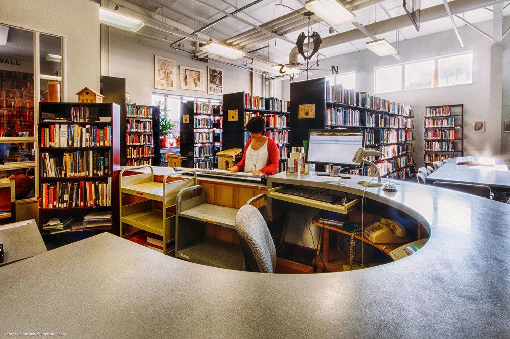 Library Architecture Interior Design Construction Management