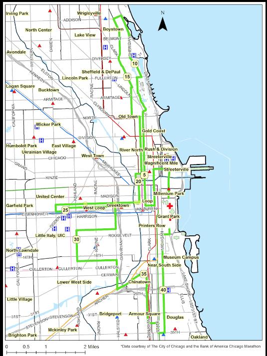 GIS Marathon Mapping Kristin Bongiovanni