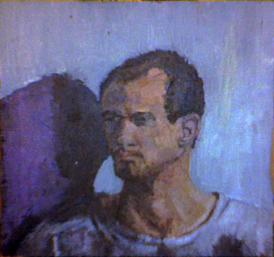 2008  Dave , 12x12 Oil on Masonite