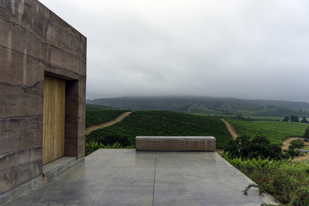 One of the best attributes of the national geography is the minimum distance separating, the capital of Chile, Santiago, with one of the most interesting ports of South America, Valparaiso. And right in the middle, the Casablanca Valley appears as an oasis covered with vines that produce world-class wines. Image: Casas del Bosque Winery.