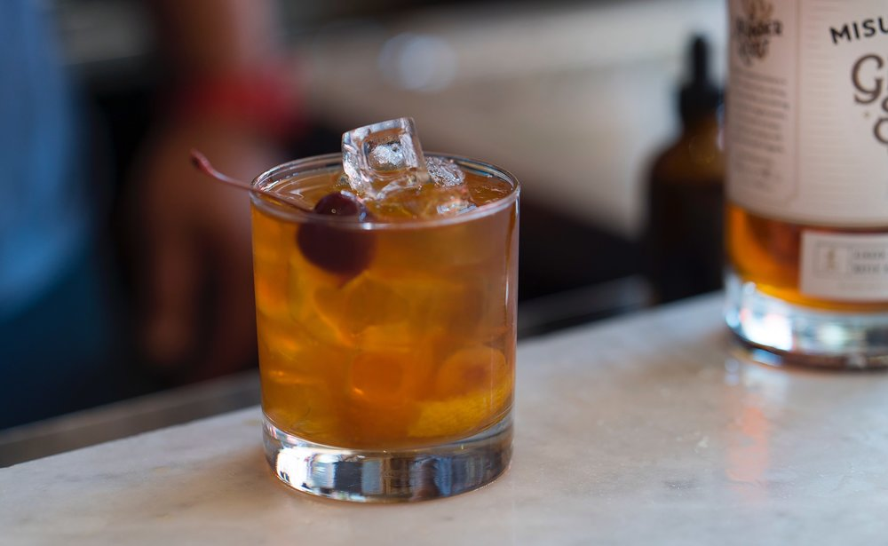 Joel's Ginger Bacon Old Fashioned