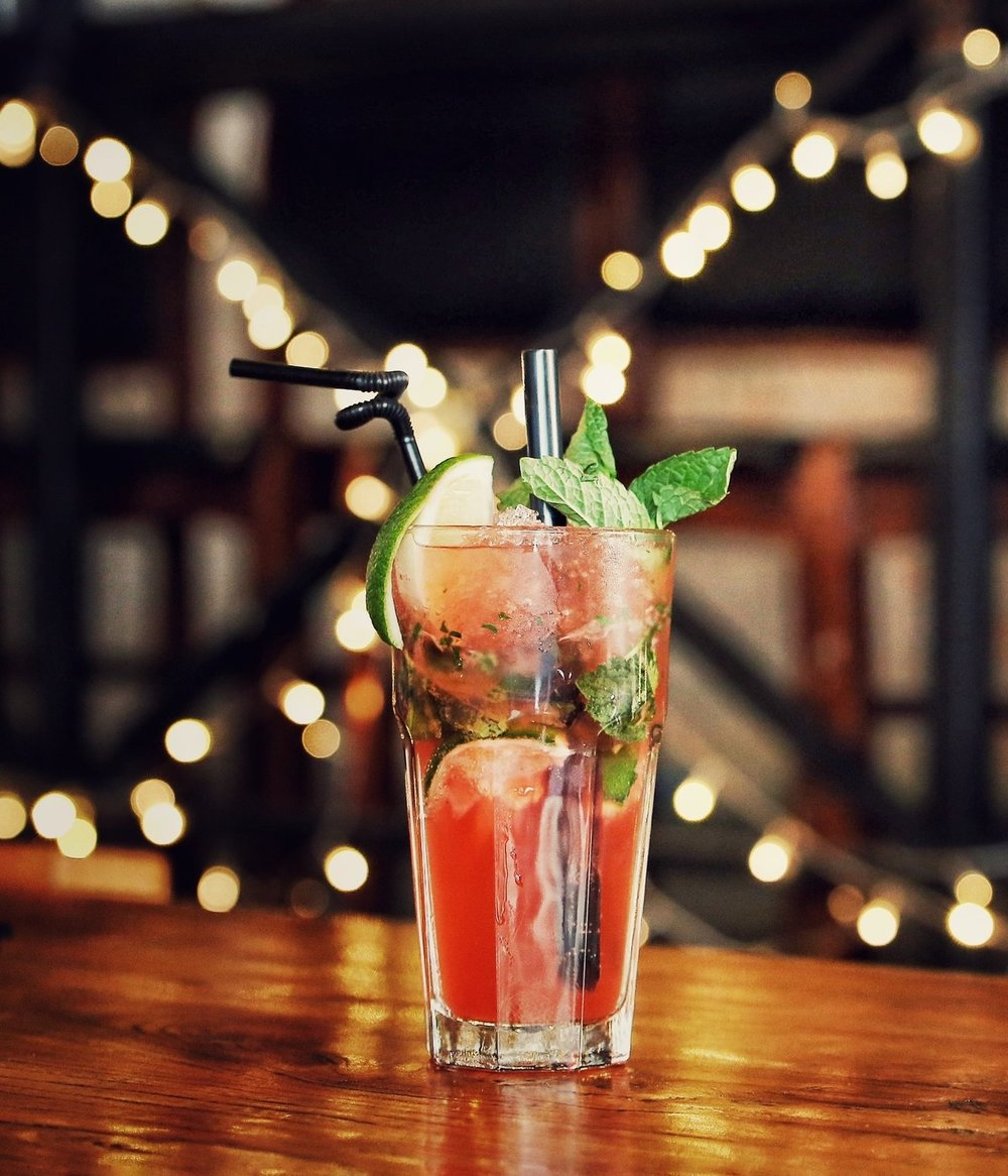 Ginger Watermelon Mojito