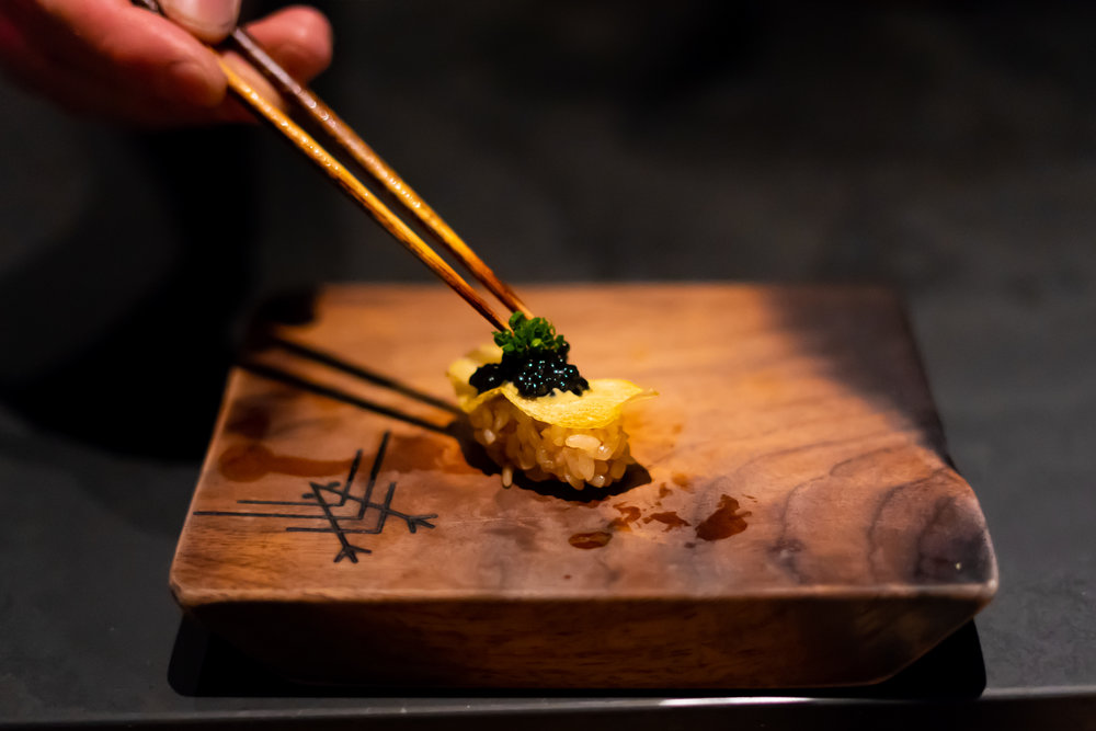 Omakase with a modern Californian twist - Fun and unpretentious - it's the perfect spot to enjoy high-end sushi in a perfectly approachable environment.