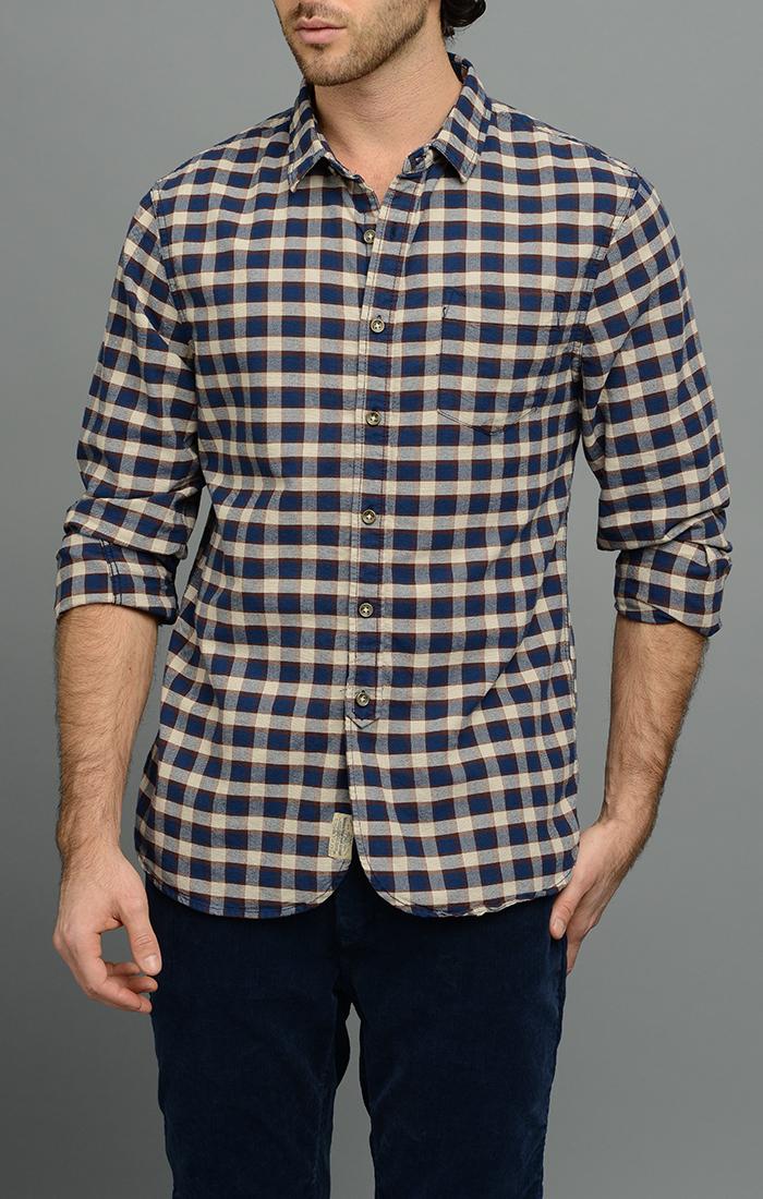 Beloved Mens Classic Fit Cotton Plaid Shirt Buttoon Down Dress Shirt