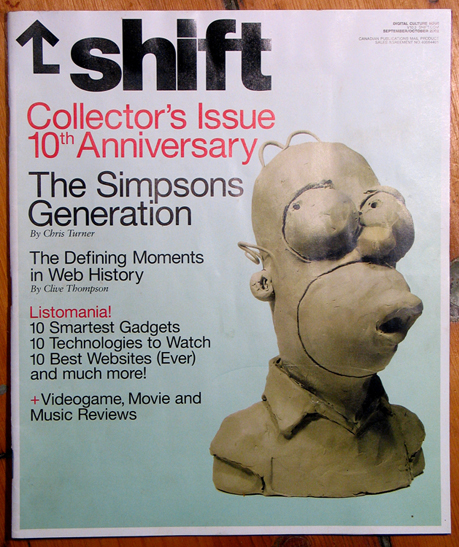 Homer Simpson for Shift (Canada)