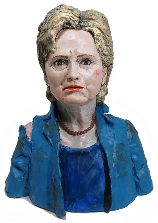 "Hillary Clinton ""The Hillary Effect~ Politics, Sexism and the destiny of Loss "" Taylor Marsh - Book Jacket"