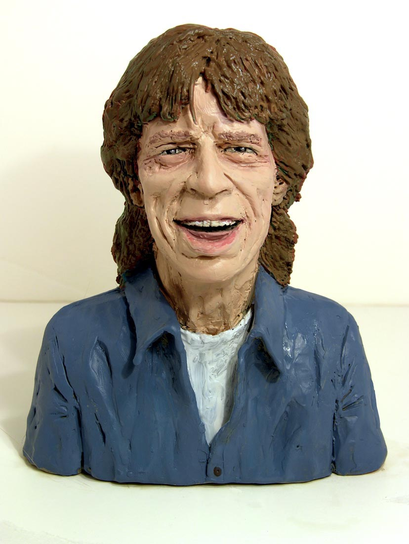 Mick Jagger (later painted version, NY Mag)