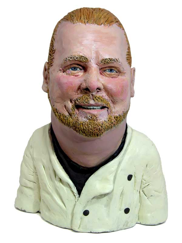 Mario Batali (painted version, NY Mag)