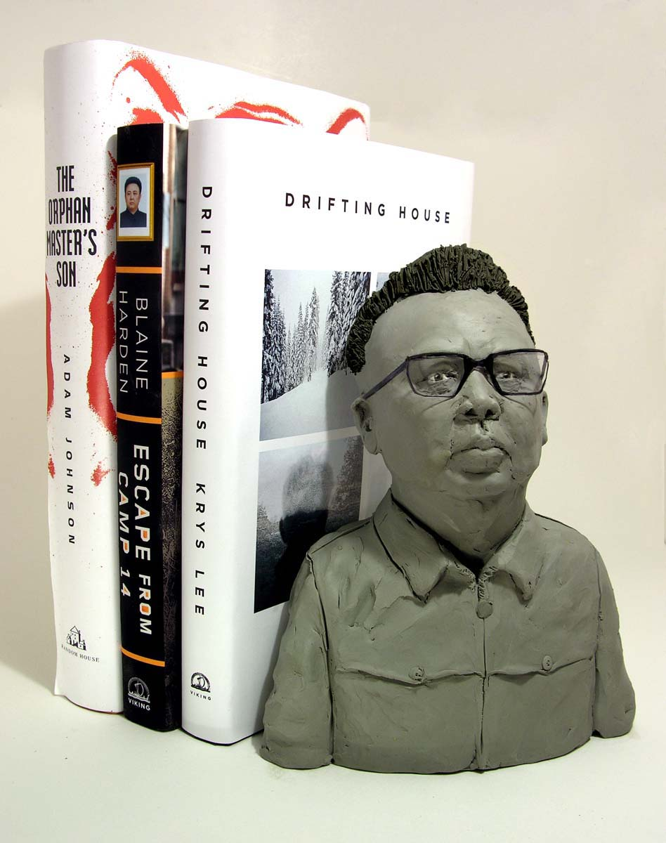 """Book End"" Kim Jong Il for Conde Nast Traveler"