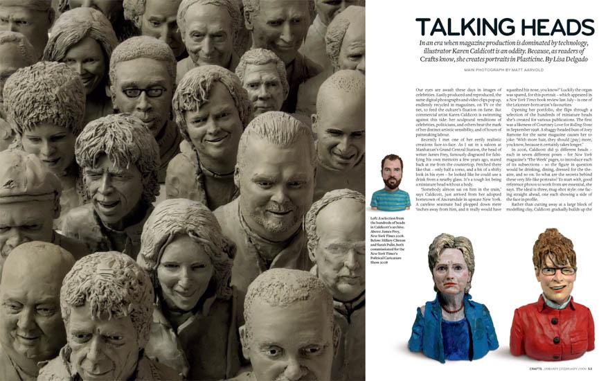 An article in Crafts Magazine U.K