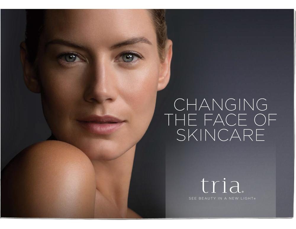 Tria Beauty // Retail Brochure / Cover