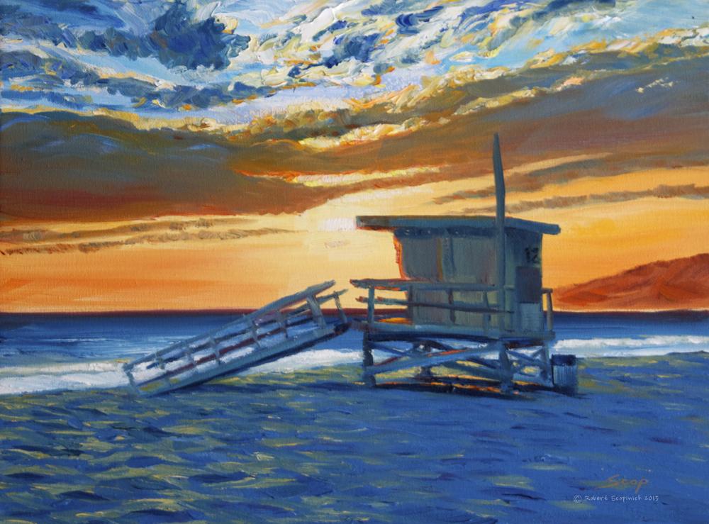 Sunset At Twelve