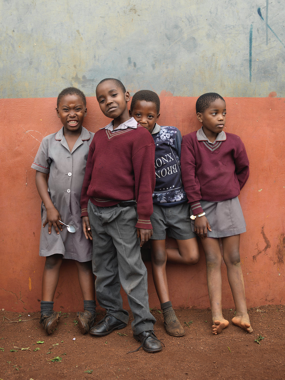 Portrait series for Star for Life, an organization fostering success in South Africa students.
