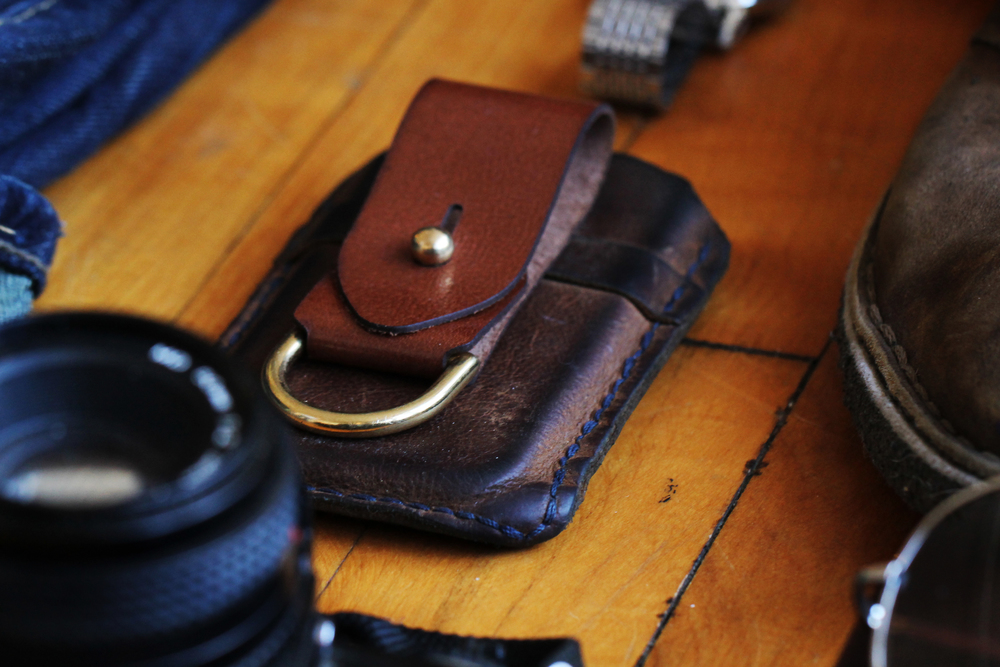 We love our Leather Key Fob!