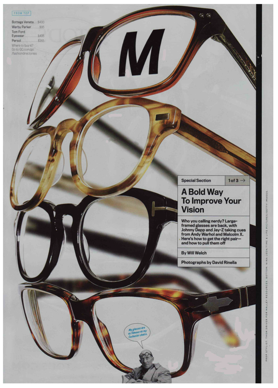Client: Warby Parker Eyewear, Publication: GQ